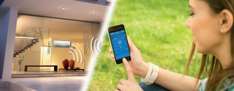 wifi ovládanie klimatizácie tabertech